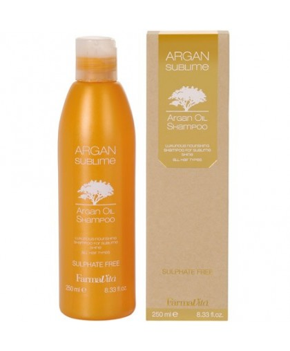 Farmavita  Шампунь с аргановым маслом Argan sublime shampoo 250мл.