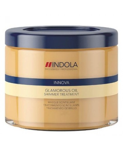 Indola Innova Glamorous Oil Treatment Индола Маска восстанавливающая смываемая Чарующее Сияние 200 мл