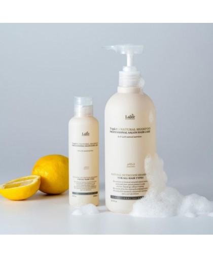 Lador Triplex Natural Shampoo Бессульфатный органический шампунь с эфирными маслами 530МЛ.