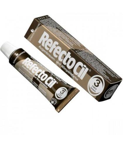 RefectoCil Краска для бровей и ресниц Коричневая №3, 15мл