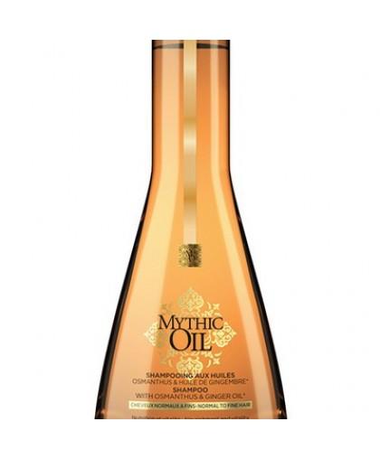 LOREAL  Шампунь для нормальных и тонких волос Mythic OIL 250мл.