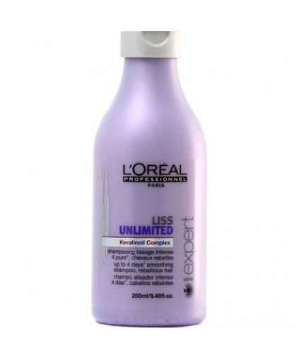 LOREAL Шампунь для гладкости волос Liss Ultime 250мл.