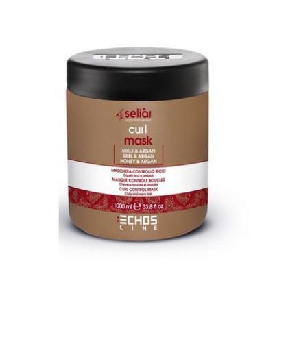 ECHOSLINE Маска для вьющихся волос с  медом и маслом Аргании / Seliar Curl Mask 1000 мл.