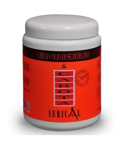 ECHOSLINE Крем-маска с экстрактом моркови и маслом семени льна Carrot and Linseed Oil Cream 1000 мл.