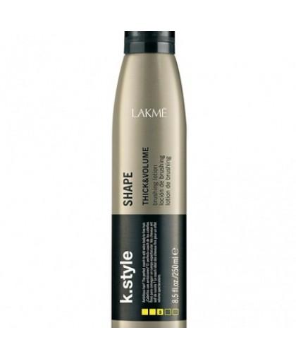 LAKME Лосьон для укладки волос, придающий объем (K.Style Shape), 250 мл.