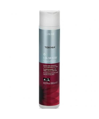 LAKME  Шампунь для защиты цвета окрашенных волос (Teknia Color Stay Shampoo), 300 мл.