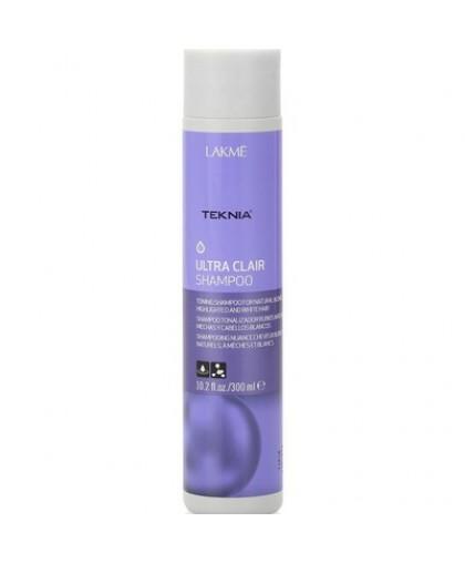 LAKME Шампунь для светлых и осветленных волос TEKNIA Ultra Clair 300мл.