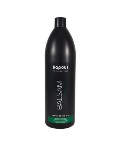 Kapous Professional Бальзам для всех типов волос с ментолом и маслом камфоры 1000 мл.
