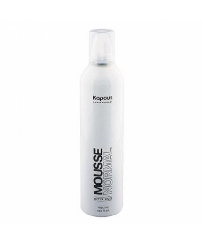 Kapous Professional Мусс для укладки волос нормальной фиксации 400 мл.