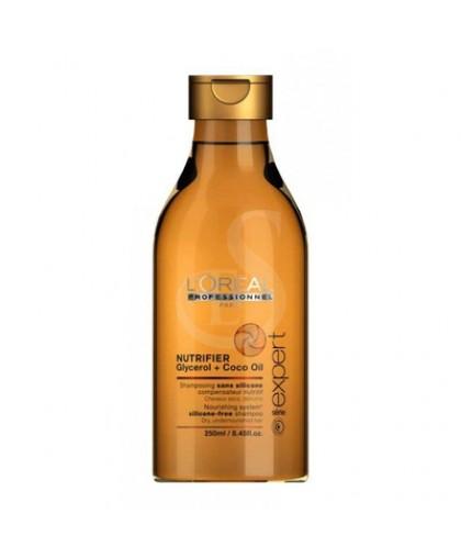 LOREAL Питательный шампунь для сухих и ослабленных волос Professionnel Nutrifier 250 мл.