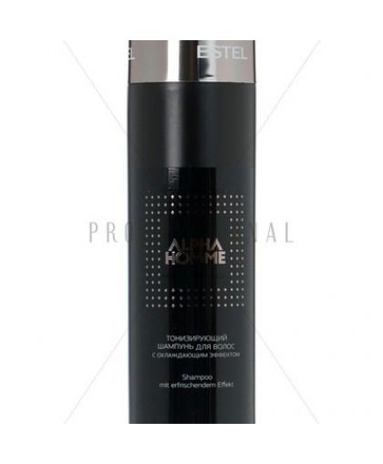 ESTEL OTIUM Тонизирующий шампунь для волос с охлаждающим эффектом 1000мл.
