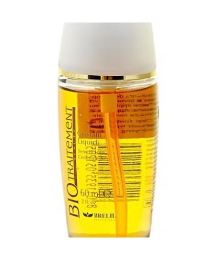 """BRELIL Легкий флюид с эффектом блеска для секущихся кончиков """"Жидкие кристалы"""" 60 ml."""