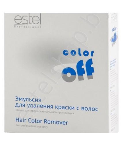 Смывка ESTEL Color Off - Эмульсия для удаления стойких красок с волос.