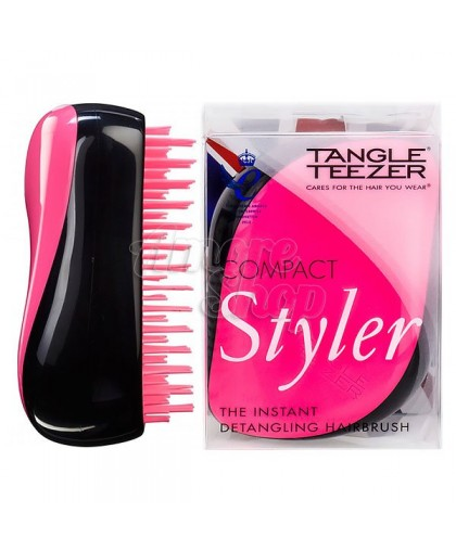 Расческа Tangle Teezer Compact Styler Pink Sizzle