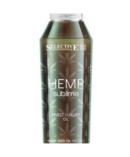 Selective Hemp Sublime Восстанавливающий эликсир с маслом конопли 100мл