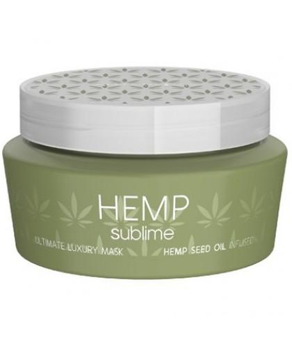 Selective Hemp Sublime Ultimate Интенсивно-увлажняющая маска с маслом семян конопли для сухих и пов