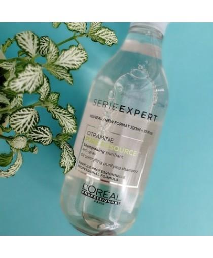 LOREAL Pure Resource Шампунь очищающий для жирных волос 300 мл