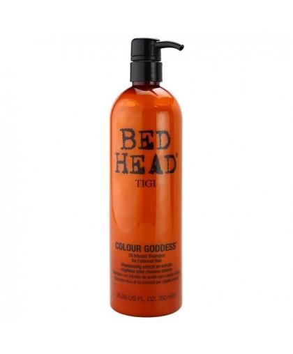 Tigi Bed Head Colour Goddess Oil Infused Shampoo ШАМПУНЬ ДЛЯ ОКРАШЕННЫХ ВОЛОС 400 мл